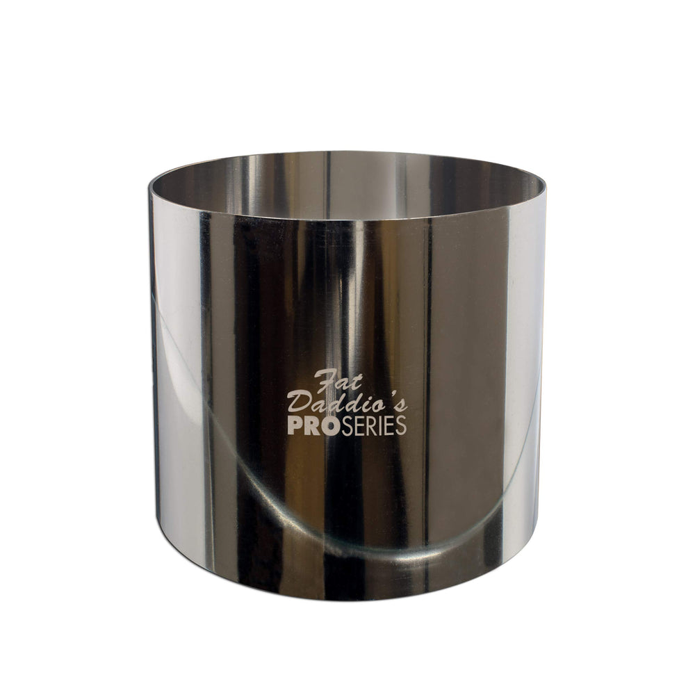 "Pro Series Rings round stainless steel 3"" x 3"""