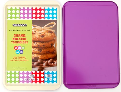 "117166 Purple Cookie/Jelly Roll Pan 11"" X 17"""