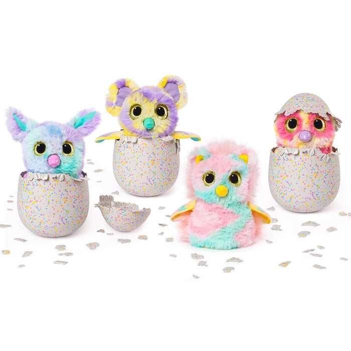 Hatchimals Mystery - Hatch 1 of 4 Fluffy Interactive Mystery Characters from Cloud Cove (Styles May Vary)
