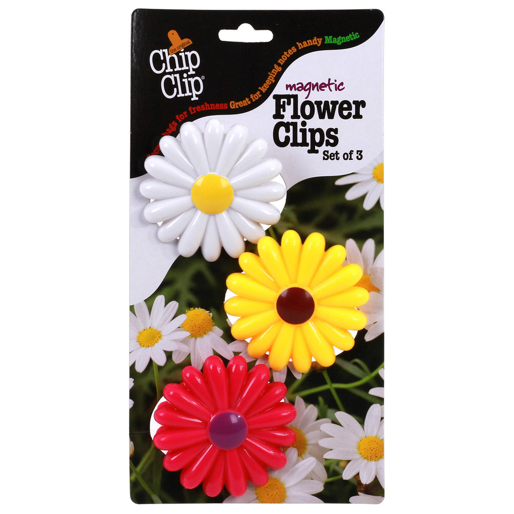 CHIP CLIP FLOWER CLIPS SET OF 3