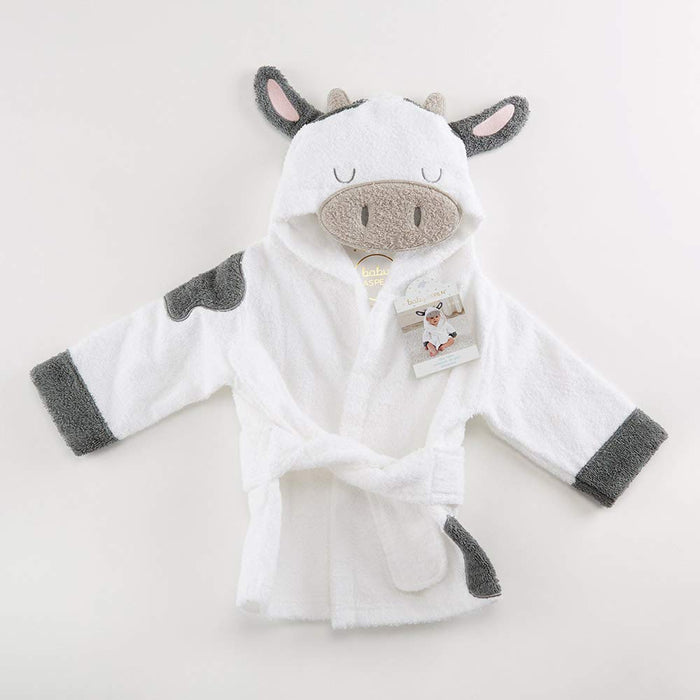 Cow Hooded Baby Bath Robe/Towel