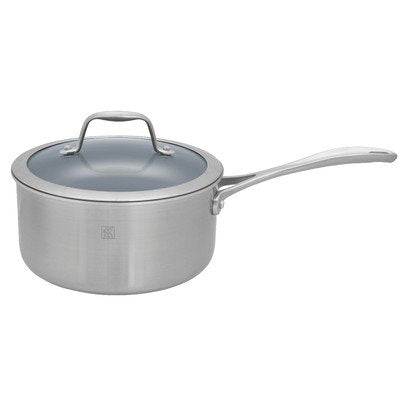 Spirit Saucepan with Lid Size: 3-qt.