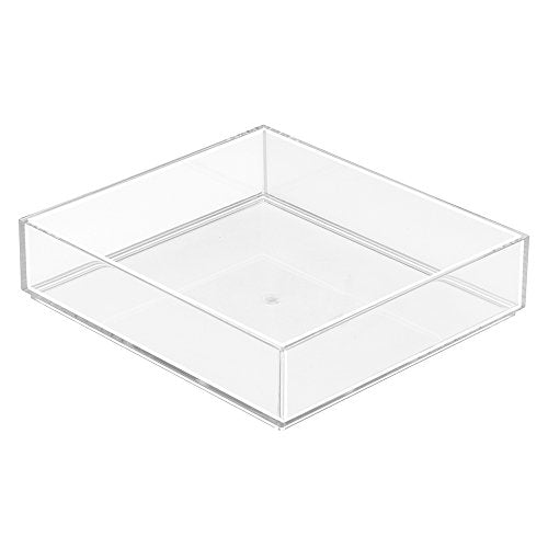 "Clarity Organizer 8"" x 8"" x 2"" - Clear, 40880"