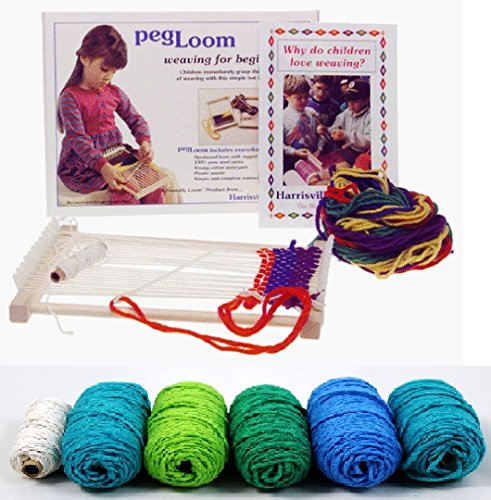pegLoom w/ Yarn Refil Pack (Ocean)