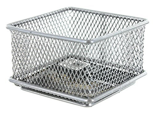 Design Ideas Mesh Drawer Store, Silver, 3 by 3-Inch