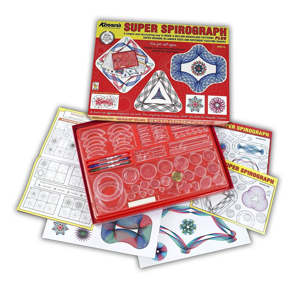 Super Spirograph Jumbo Set, 75-Piece