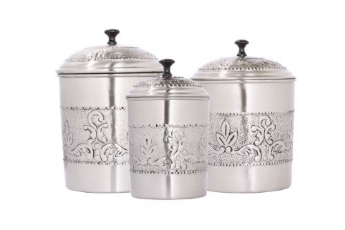 OLD DUTCH S/3 Oversized Canister Set