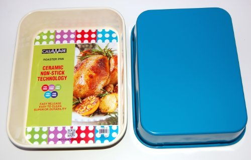 "116877 Blue Roaster Pan 13"" x 10"" x 3"""
