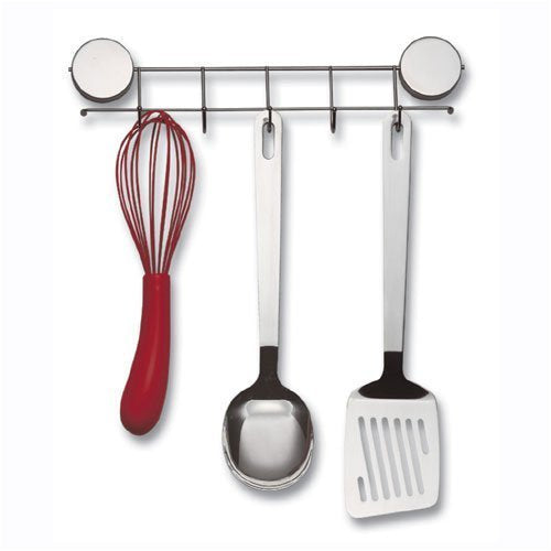 Better Houseware Magnetic Hook Rack, Stainless