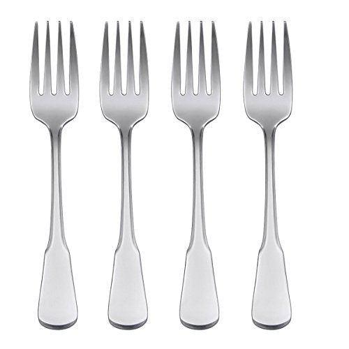 Oneida Flatware Colonial Boston Salad Forks, Set of 4