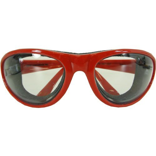 Onion Goggles  Fiery Red
