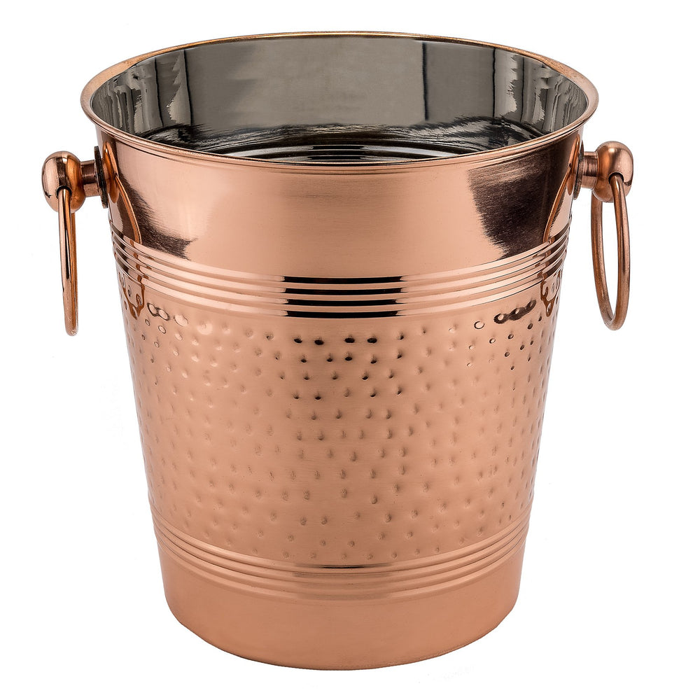 Decor Copper Hammered Wine Cooler