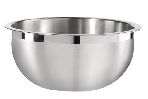 Oggi 8-Quart Two-Tone Stainless Steel Mixing Bowl with Airtight Lid