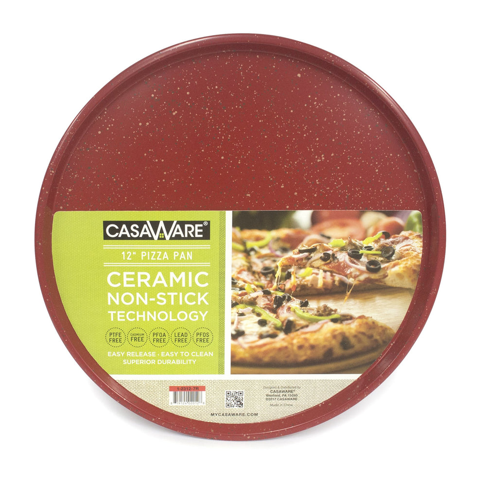 "123171 Pizza Pan 12"" Red"
