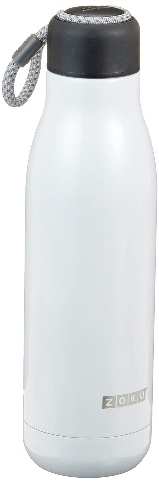 Zoku White 25oz Stainless Bottle