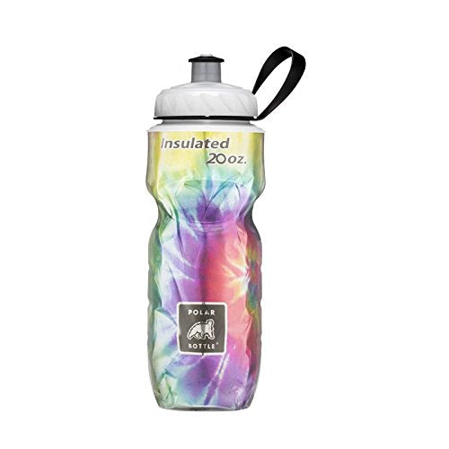 Polar Thermal Insulated Bottle - 20oz., Tie-Dye Rainbow