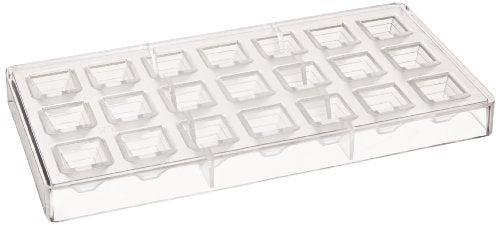 Fat Daddio's Pyramid Polycarbonate Candy Mold 21-Piece Tray