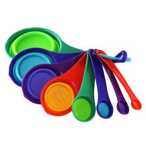 SQUISH 8PC MEASURING CUP/SPOON SET