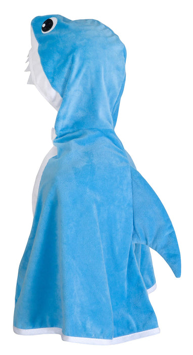 Shark Toddler Cape, Size 2-3