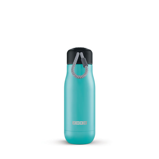 Zoku Teal 12oz Stainless Bottle