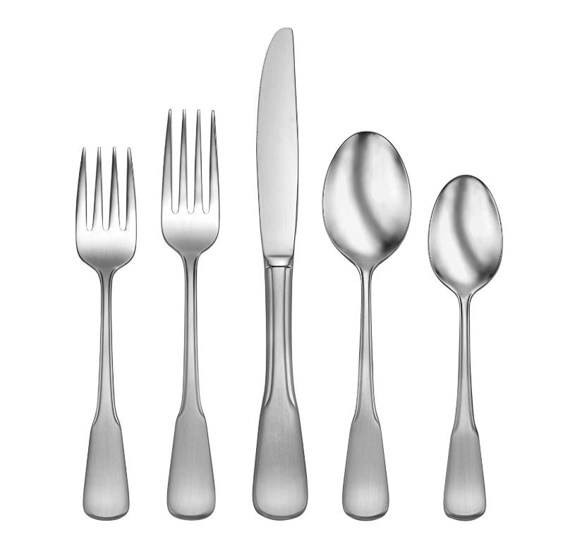 Oneida Colonial Boston 45-Piece Flatware Set, Service for 8