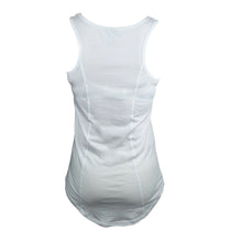 Load image into Gallery viewer, Womens White Tank/Singlet