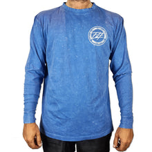 Load image into Gallery viewer, FILF Stone Wash Cotton Long Sleeve BLUE