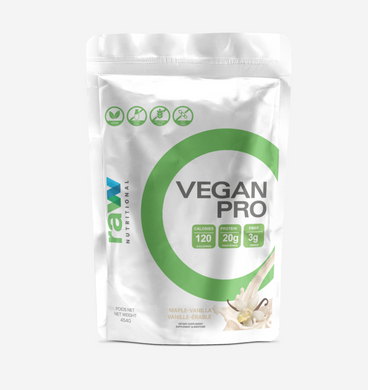 Raw Nutritional Vegan Pro Protein Powder (Best Before Date: May, 2022)