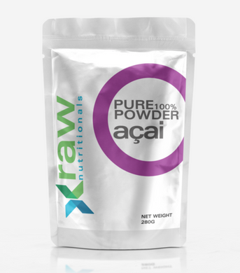 Raw Nutritional Organic Raw Açai Berry Powder (Best Before Date: August 2022)