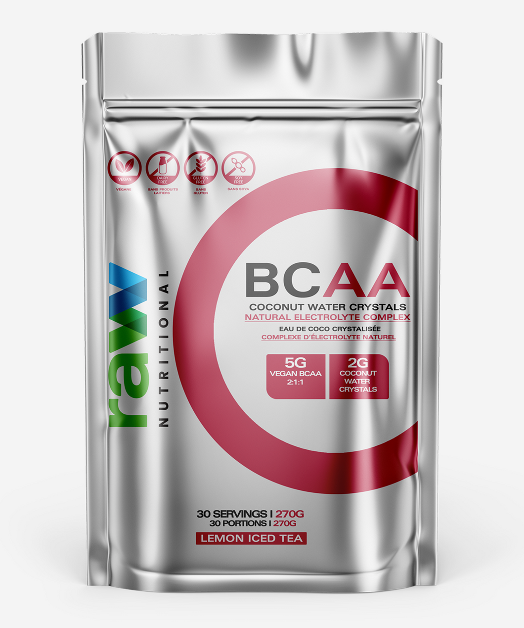 Raw Nutritional Vegan BCAA & Coconut Water