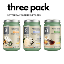 Load image into Gallery viewer, Botanica Perfect Protein Elevated - 3 Pack (Best Before Date: March 2021)
