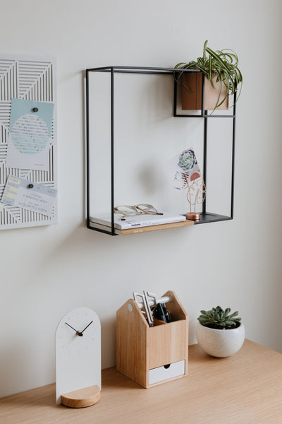 wall shelf, wall display, wall shelf and planter, wall planter