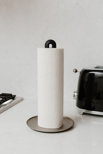 paper towel holder, kitchen paper towel holder