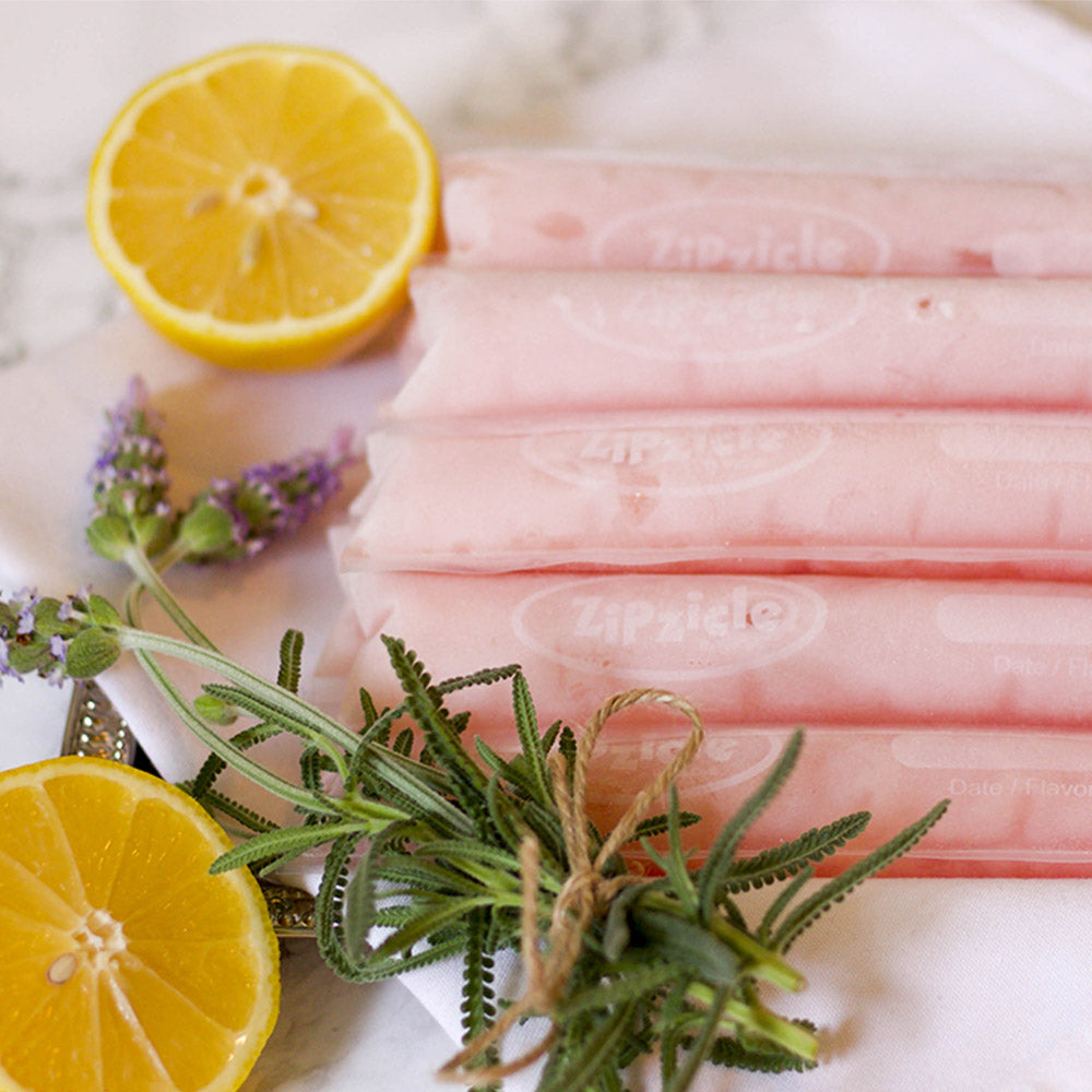 Lavender Lemonade Ice Pops