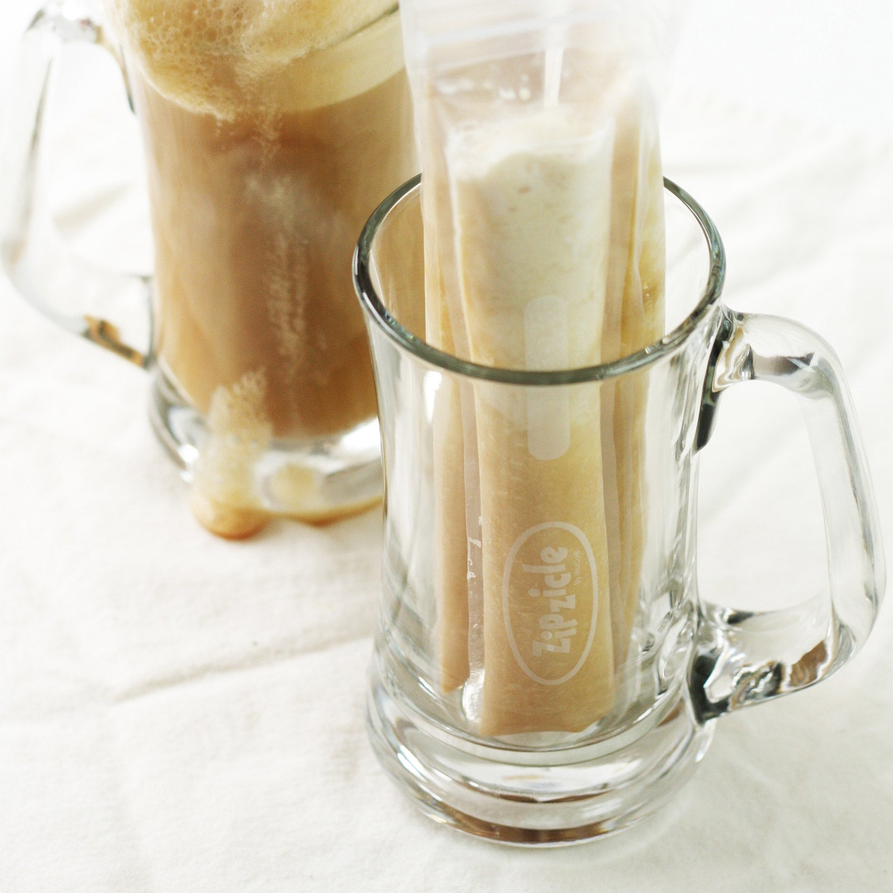 Rootbeer Float Ice Pop