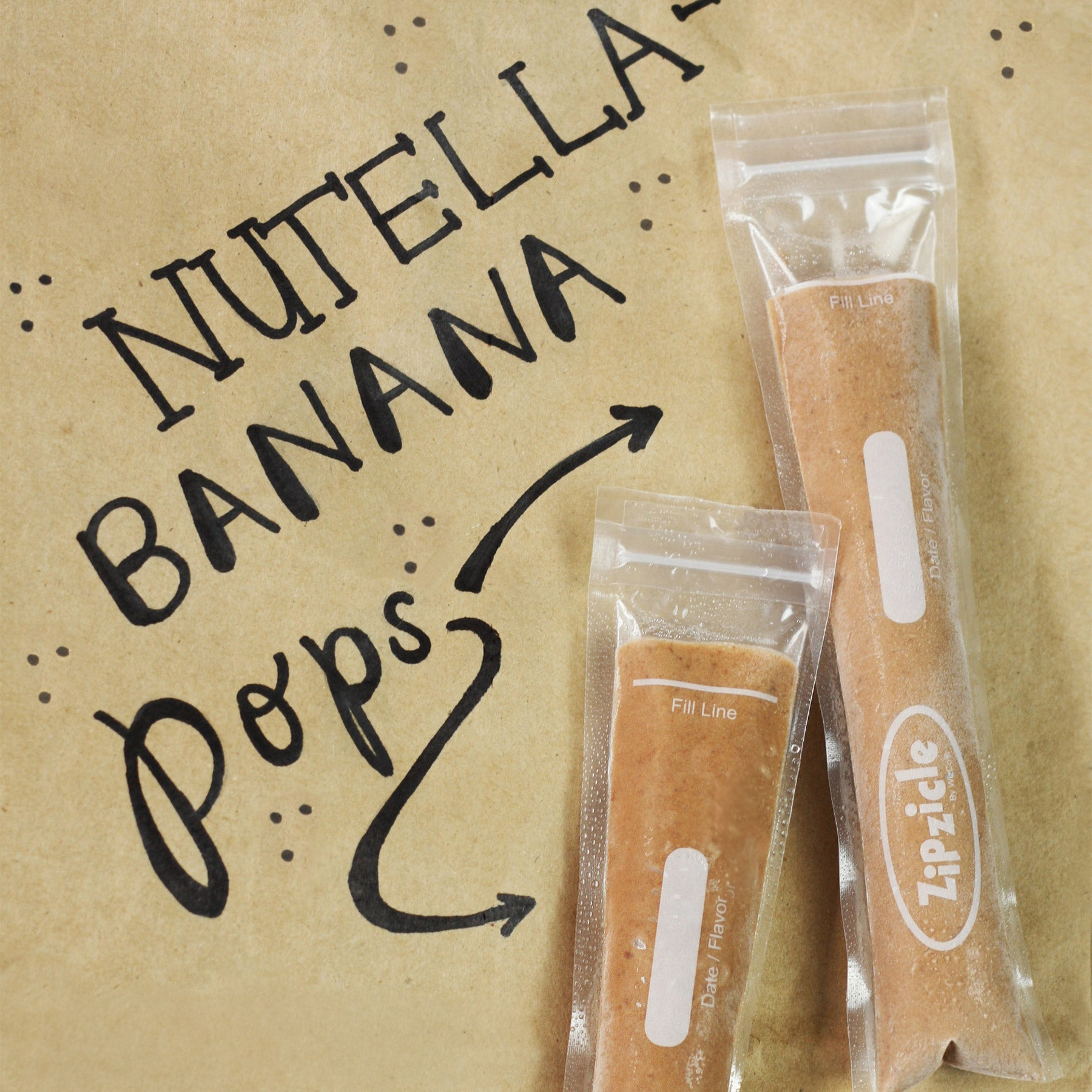 Nutella Banana Ice Pop