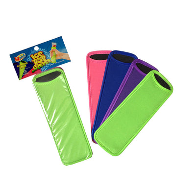 Zipzicle® Neoprene Ice Pop Holders (4-pack)
