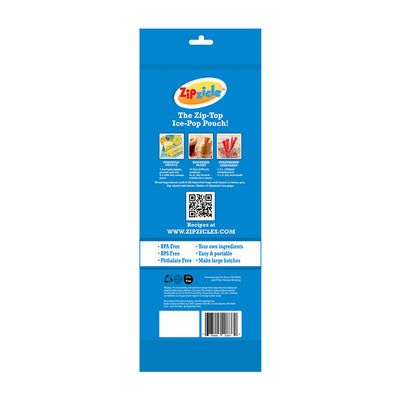 Zipzicle® Ice Pop Pouches (18-pack)