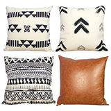 White and Black Decorative Throw Pillow Covers Hug This When You Miss Me Gift for Her Romantic Cute Woven Accent Cotton Square Cushion Case Casual Life Sofa Couch Toss Pillowcase Nook 18 X18 Inches