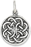 925 Sterling Silver Irish Claddagh Celtic Knot Pendant Charm Necklace Man Fine Jewelry For Dad Mens Gifts For Him