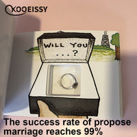 Diy Propose Marriage Hand File Book Hiding The Ring Surprise Gift For Valentine's Day Gifts For Girlfriend Wife Birthday Present