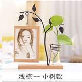 Free shipping 1pcs custom wood canvaing photo maker with iron frame engagement birthday wedding Christmas gifts for him or her