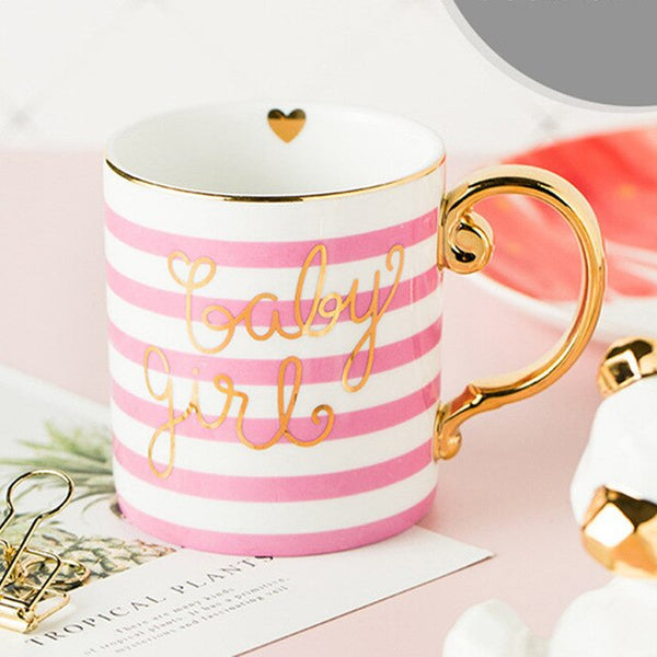 Wedding favor bride to be porcelain mug bridal shower bridesmaid gift wedding souvenir birthday gift for girlfriend