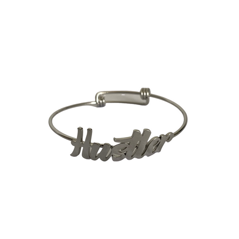 Rebellious Bangle (Silver)