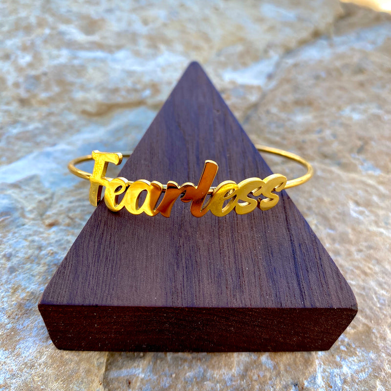 Fearless Bangle (Gold)