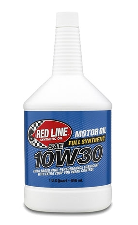 Red Line - Red Line 10W30 Synthetic Motor Oil (11304) Case of 12 - Motor Oil -10W-30, Honda Civic, Honda S2000, Motor Oil, Red Line, Scion FR-S, Subaru BRZ, Toyota 86 - 11304 - Tatis Motorsports