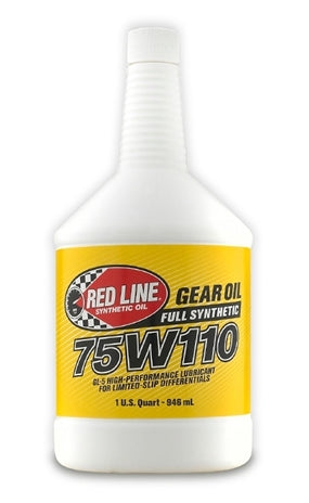 Red Line 75W110 GL-5 Gear Oil (57804)-Gear OIl-Red Line-75W-110, Gear Oil, Red Line-Tatis Motorsports