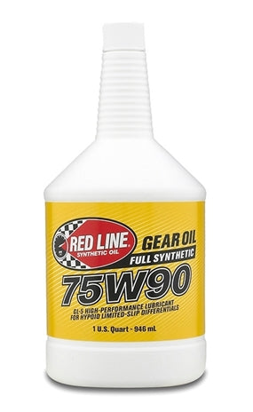 Red Line 75W90 GL-5 Gear Oil (57904)-Gear OIl-Red Line-75W-90, Gear Oil, Red Line-Tatis Motorsports