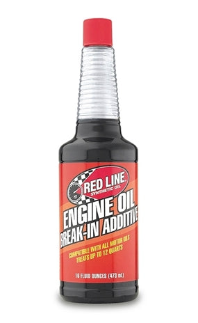 Red Line - Red Line Engine Break-In Additive (81403) 16oz - Motor Oil -Additive, Honda Civic, Honda S2000, Red Line, Scion FR-S, Subaru BRZ, Toyota 86 - 81403 - Tatis Motorsports