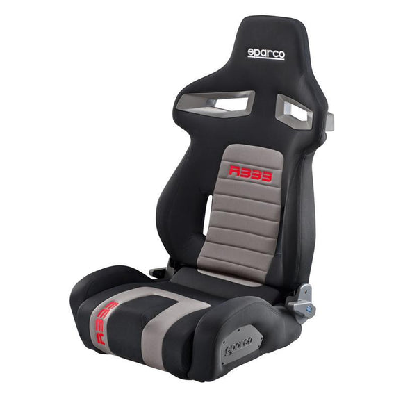 SPARCO 00965NRGRS R333 Tuner Seat (Black/Red)-Race Seat-Sparco-Race Seat, Sparco-Tatis Motorsports